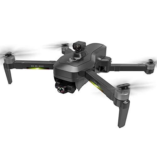 SG906 Pro MAX 4K Drone UHD Camera 3 assi Gimbal 5G WiFi GPS Quadricottero RC con borsa per il trasporto, EVO Funzione di prevenzione degli ostacoli Motore senza spazzole Ritorno automatico a casa