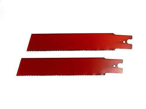 2 Säbelsägeblätter 150 / 200 x 25 x 0,9mm HSS-Bi-Metall , für Rems, Säbelsäge, Säbelsägeblatt (150mm)