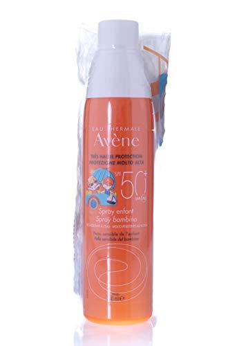 Hafer Sonnenschutzmilch Spray für Kinder LSF 50 + 200 ml