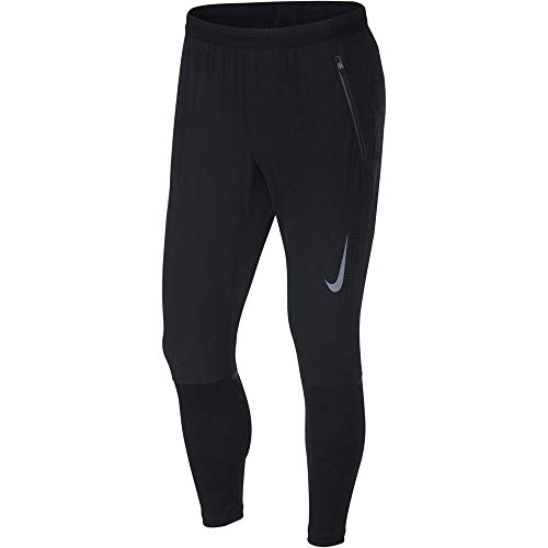 Nike Men's Swift Running Pants Black/Reflect Black L