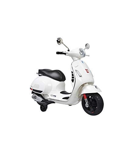 Motoor Kids Moto Eléctrica para Niños Vespa Blanca