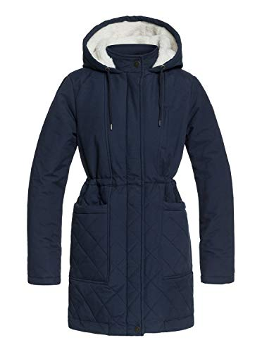 Roxy Damen Slalom Chic Jacke, Blau (Dress Blues BTK0), Large