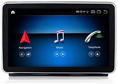 Android 8.1 Coche Estéreo Player Multimedia GPS Navegación para MERCEDES-BENZ GL ML 2013-2015 Unidad de cabeza de navegación SAT de 9 pulgadas Soporte de pantalla táctil Control de teléfono SWC,NTG4.0