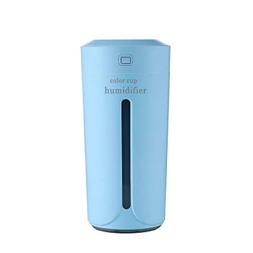 Humidificadores Difusor Aceites Esenciales Difusor De Aromaterapia Portátil para El Hogar, Humidificador USB, Máquina Humectadora, Fabricante De Niebla De Aceite Esencial, Taza Silenciosa Y Deslu