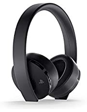 Sony PlayStation Gold Wireless Headset For PS4 - Black