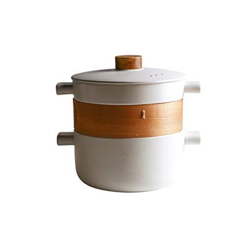 Vaporeras para ollas Vapor vajilla tapada Vapor Conjunto Saucepot Insertar Vapor del Acero Inoxidable Set de Chef Classic Vaporera