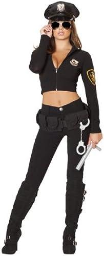 Woherren Miss Law and Order Fancy dress costume Medium Large