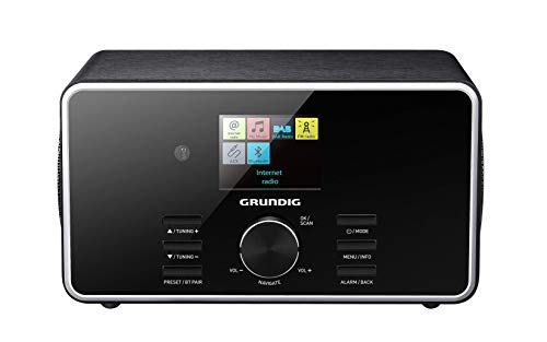 "Grundig DTR 5000 2.0 BT DAB+ WEB ""All-in-one""-Internetradio mit Bluetooth und Empfang Schwarz"