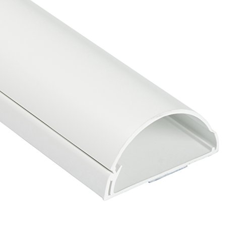 D-Line Kabelkanal r1d6030W 1m Kabelkanal 60x 30mm–Weiß