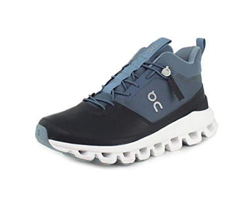 On Running W Cloud HI Blau, Damen Freizeitschuh, Größe EU 39 - Farbe Dust - Navy