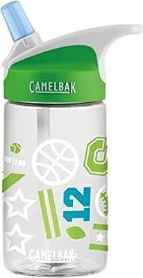 CamelBak Eddy Kids BPA Free Water Bottle 12 oz, Sports Jam