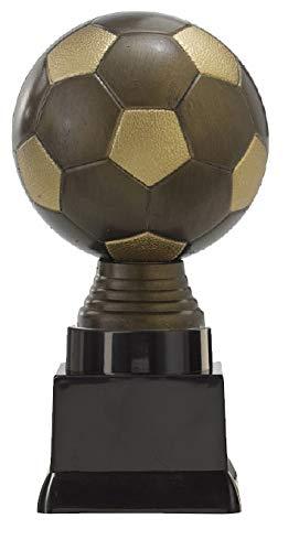 Deitert Ballpokal Fußball PF300.5-M60 altgold/Gold 16,1cm