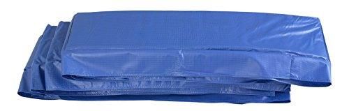 Upper Bounce Super Trampoline Replacement Safety Pad Spring Cover for 9 x 15 ft Rectangular Frames, Trampoline Padding for Maximum Safety, Blue