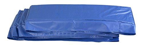 Bovenste Bounce Super Trampoline Vervangende Veiligheidspad (Spring Cover) voor 9' x 15' Rechthoekige Frames, Blauw