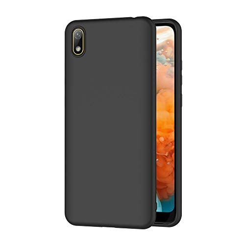 AICEK Cover per Huawei Y5 2019 Cover Y5 2019 Nero Silicone Case Molle di TPU Sottile Custodia per Huawei Y5 2019 (5.71 Pollici)
