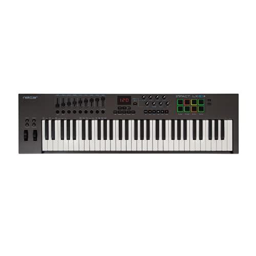 Nektar Impact LX61+ Keyboard Controller, MultiColored