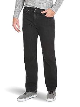 Wrangler Authentics Men s Relaxed Fit Comfort Flex Jean Dark Denim 30W x 32L