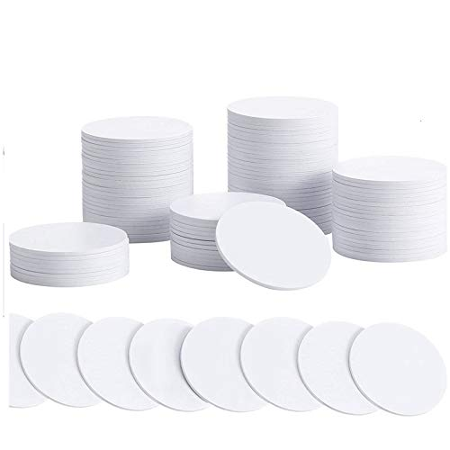 Varadyle 120Pcs NFC 215 Cards, for NTAG215 NFC Round Cards Rewritable NFC 215 Card Tag Compatible with TagMo and Amiibo