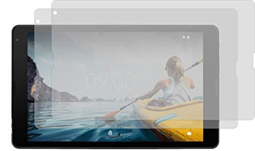 4ProTec I 2X Crystal Clear klar Schutzfolie für Medion Lifetab E10414 Bildschirmschutzfolie Displayschutzfolie Schutzhülle Bildschirmschutz Bildschirmfolie Folie
