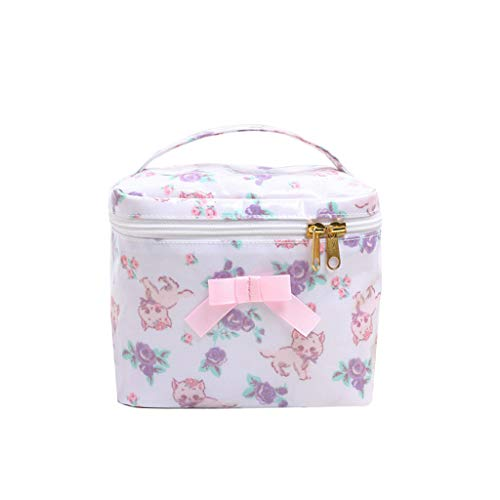 Cosmetic bag Portable, Travel Small Portable Cosmetic Storage Bag, Multi-Function Wash Bag, Large Capacity Placement Bag
