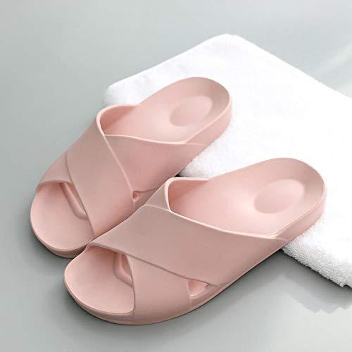 Cxypeng Zapatillas de Estar por Casa Ultraligera,Zapatillas de baño de Masaje de Fondo Suave, con Fugas, de Secado rápido, Antideslizantes-DD_35-36,Secado Rápido Zapatillas Piscina