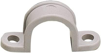 Gardner Bender GCC-120 1/2-Inch Two Hole Plastic Straps, Grey, 20-Pack