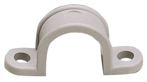 Gardner Bender GCC-310 2-Hole Heavy Duty Conduit Strap, 1.315 In, Plastic, Gray, 1-Inch, Grey,  (10 Count)