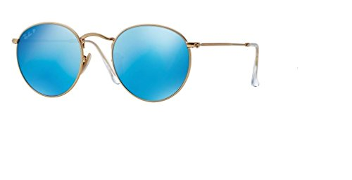 Ray Ban RB3447 ROUND METAL Sunglasses For Men For Women