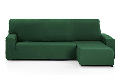 Martina Home Tunez Housse pour canapé avec Chaise Longue 32 x 17 x 42 cm Bras Droit Court (vu de Face) 32x17x42 cm Vert Bouteille