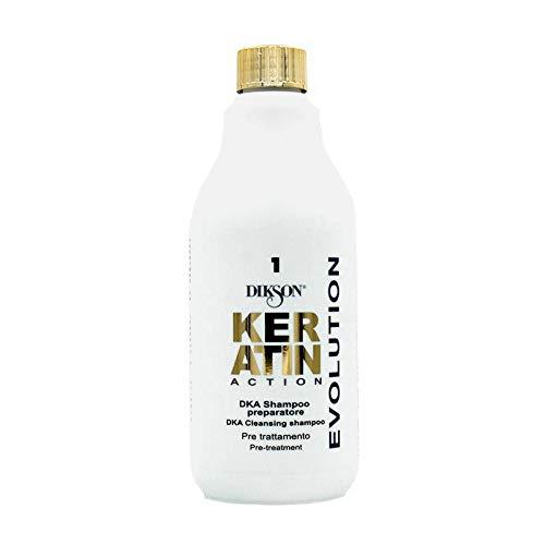 Dikson Dka Keratin Shampoo mit Keratin, 500 ml