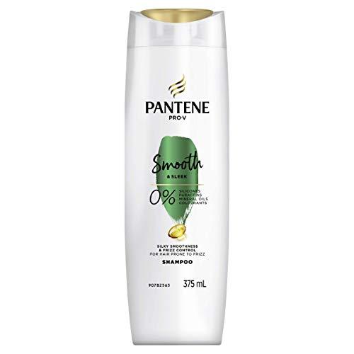 Pantene Pro-V Smooth & Sleek Shampoo: Smoothing Shampoo For Frizzy Hair 375ml