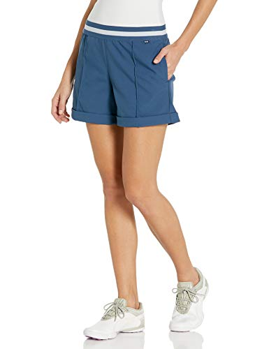 PUMA Golf 2020 Women's Elastic Short, Dark Denim, Large