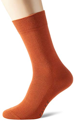 FALKE Herren Family M SO Socken, Blickdicht, Rot (Coppercoin 8937), 43-46