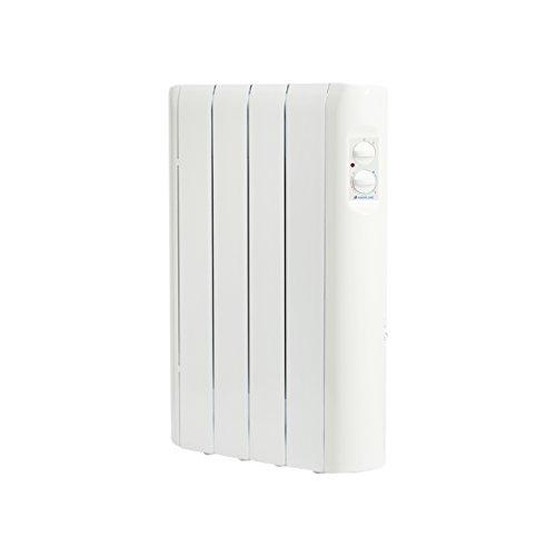 HAVERLAND RC4A - Emisor Térmico Analógico Fluido Bajo Consumo, 500 de Potencia, 4 Elementos, Piloto Luminoso, Mandos De Fácil Acceso