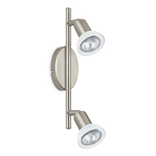 Eglo 92615 Spot poutres, métal, GU10 Blanc