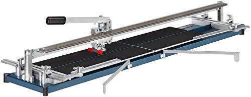 Cortador de baldosas Kaufmann TopLine PRO 1550con una longitud de cortador de 1550mm resistente de acero acabado con base 10.845.16