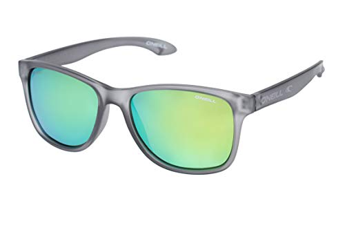 Oneill ONS Offshore Polarised Sunglasses - Matt Grey/Green Revo