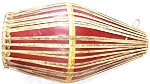Tambour Mridangam en fibre - Marron - Instruments de musique traditionnels du sud indien