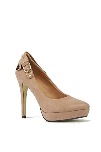 Zapatos de tacón para mujer, elegantes, cómodos, elegantes, detallados, para el trabajo,...
