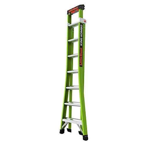 Little Giant Ladder Systems 13814-001 King Kombo 3-in-1 Ladder, 8 Ft, Green