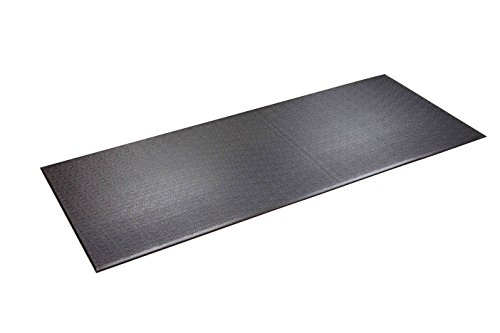 "SuperMats Heavy Duty Equipment Mat 12GS Made in U.S.A. for Treadmills Ellipticals Rowing Machines Recumbent Bikes and Exercise Equipment (3-Feet x 7.5-Feet) (36"" x 90"") (91.44 cm x 228.6 cm)"