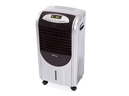 PURLINE RAFY 92 Condizionatore d'aria evaporativo con funzione di riscaldamento, umidificatore, ABS, nero e argento