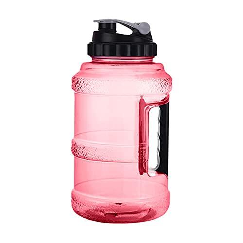 hgkl Botellas de Agua Portátil 2.5L de plástico a Prueba de Fugas Grandes Gran Capacidad Gimnasio Deportes Botella de Agua Picnic al Aire Libre Picnic Bicicleta Camping Ciclismo Tetera (Color : Red)