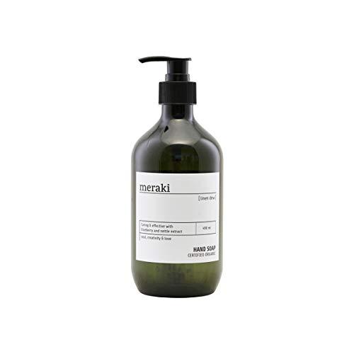 Meraki - Linen Dew - Handseife - Pumpspender - Natürliche Inhaltstoffe - 490ml