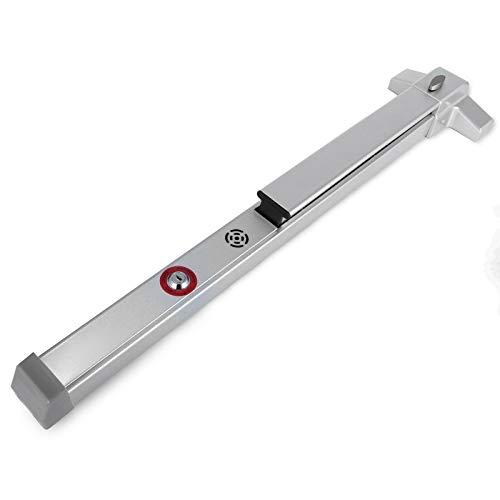 VEVOR Barras De Anti Panico Para Salida De Emergencia 71-90cm, Dispositivo de Salida de Emergencia de Pánico, Dispositivo de Salida de Emergencia Comercial de Aluminio Llave, Fuego Puerta Pánico Bar