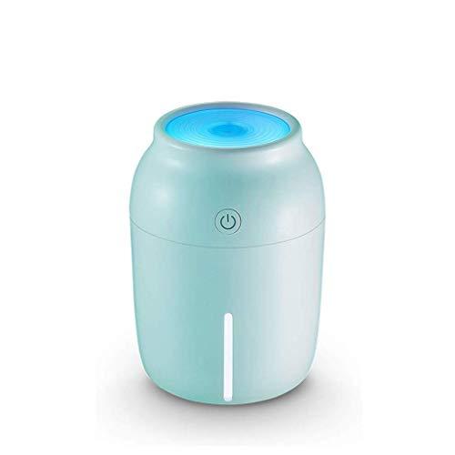 WZHZJ USB Taza del Color Jane humidificador de Aire Inicio Silencio Dormitorio de la Mujer Embarazada del bebé Mini Coche Simple Spray (Color : A)
