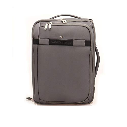 Aeronautica Militare Backpack/Briefcase for PC 15' color ANTHRACITE