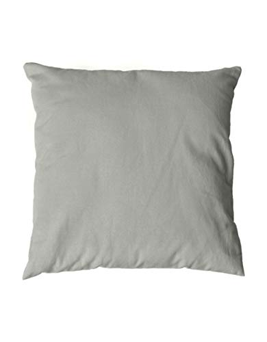 Sensei La Maison du Coton - Juego de 2 fundas de almohada de franela de algodón (160 g/m2)