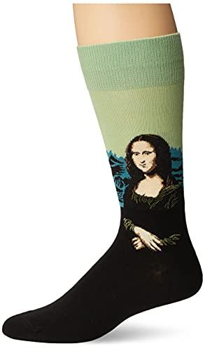 Hot Sox Herren-Socken Gr. L, Mona Lisa (Meeresschaum)