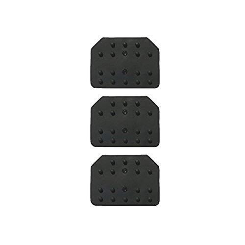 SPARCO S03787K4 Kit Gommes (3 pièces) Reflex Noir
